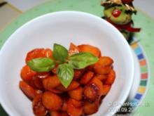 Karamellisierte Karotten - Rezept