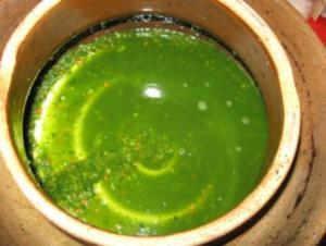 Suppengrün haltbar gemacht - Rezept