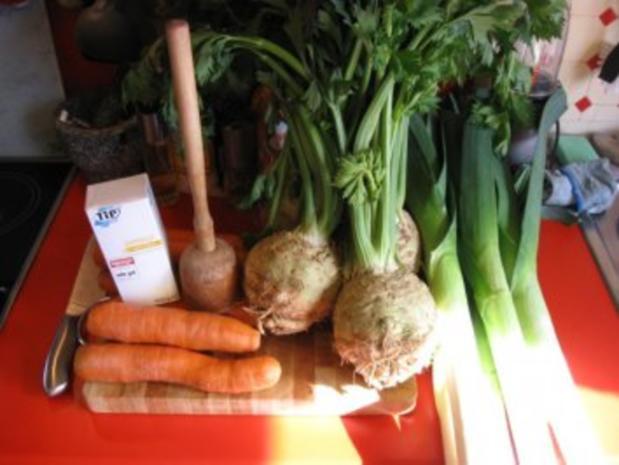 Suppengrün haltbar gemacht - Rezept - Bild Nr. 2