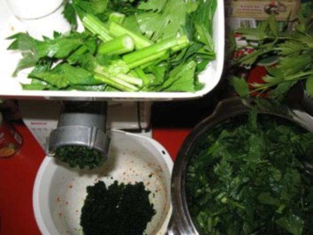 Suppengrün haltbar gemacht - Rezept - Bild Nr. 6