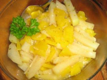 Kohlrabi-Kürbis-Gemüse - Rezept