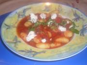 Kartoffelgnocci mit Tomaten und Ricotta - Rezept