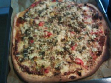 Pizza Speziale - Rezept