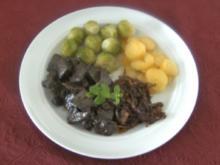 Lebergeschnetzeltes mit Balsamico - Zwiebeln - Rezept
