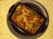 Vegetarisch: Rosenkohl-Fusilli-Auflauf - Rezept