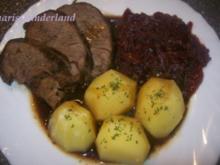 Rinderbraten in Biersoße ♥ ♥ ♥ - Rezept