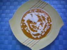 Feine Kürbis-Ingwer Suppe - Rezept