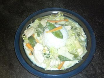 Anne`s Thai Curry - Rezept