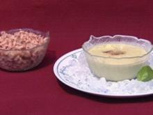 Geeistes Avocado-Gurkensüppchen mit Büsumer Krabben (Anna Heesch) - Rezept