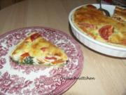 Tomaten - Spinat - Quiche - Rezept