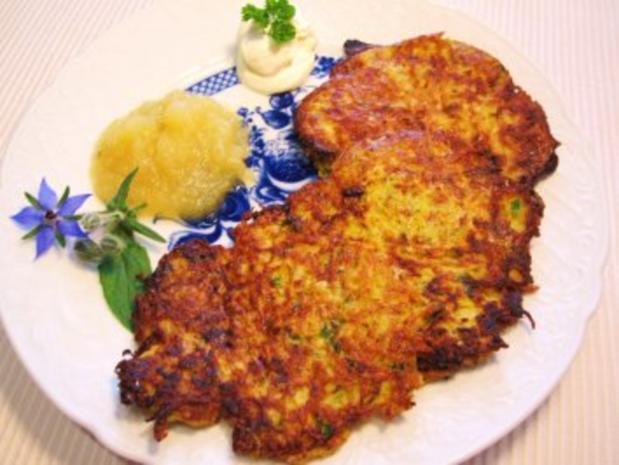 """Eifeler Kartoffelpuffer - """"Rievkooche"""" - Rezept"""