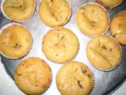 Cappuccino-Schokoladen-Muffins mit Frischkäsefüllung - Rezept