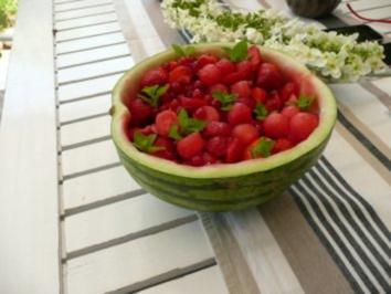 Dessert: Obstsalat Johannisbeere - Rezept