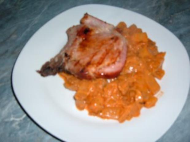 Gemüse : Weißkohl - Kohlrabi - Kartoffel -Topf - Rezept