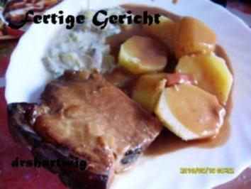 Hauptgericht~Krustenbraten mitRahm Porree u. Champigons im Ultra - Rezept