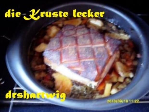 Hauptgericht~Krustenbraten mitRahm Porree u. Champigons im Ultra - Rezept - Bild Nr. 3