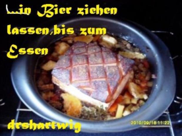 Hauptgericht~Krustenbraten mitRahm Porree u. Champigons im Ultra - Rezept - Bild Nr. 4
