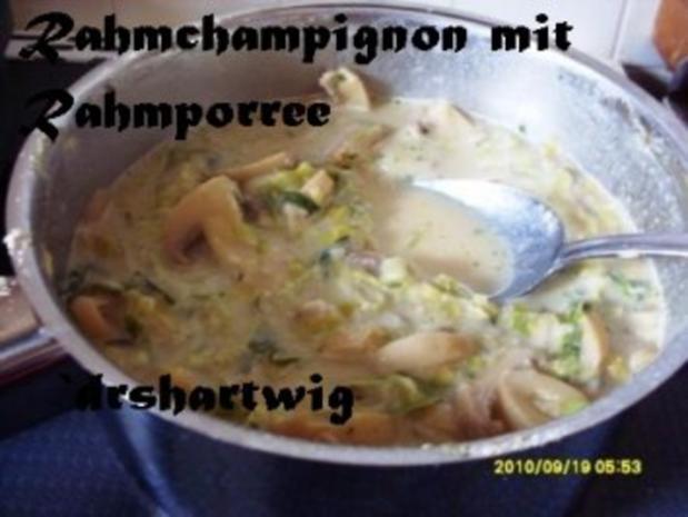 Hauptgericht~Krustenbraten mitRahm Porree u. Champigons im Ultra - Rezept - Bild Nr. 7