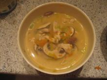 Suppe - Thailändisch scharf - Rezept