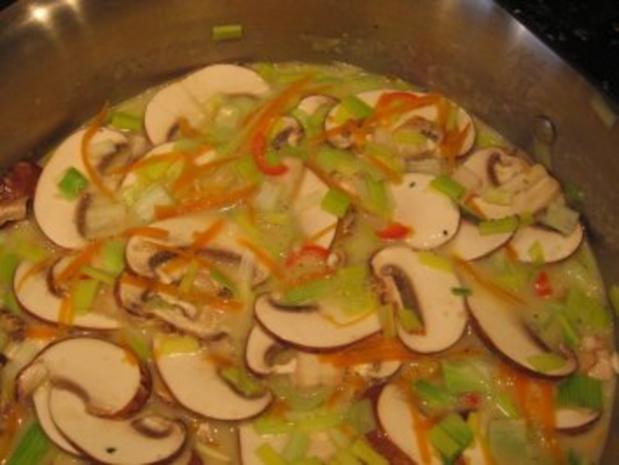 Suppe - Thailändisch scharf - Rezept - Bild Nr. 6