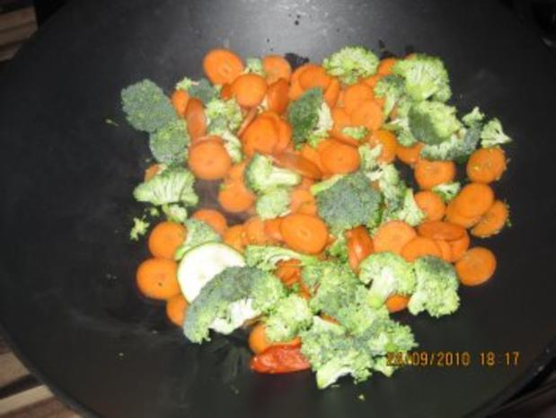 Bunte Curry-Gemüsepfanne mit Kokosmilch - Rezept - Bild Nr. 3
