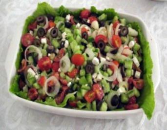 Griechischer salat fur 10 personen