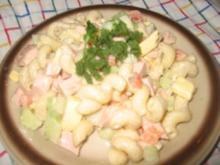 Salat: Würziger Nudelsalat... - Rezept