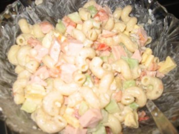 Salat: Würziger Nudelsalat... - Rezept - Bild Nr. 2