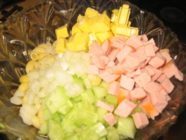 Salat: Würziger Nudelsalat... - Rezept - Bild Nr. 4