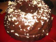Backwaren: Glühwein -Schokoladen  Kuchen - Rezept