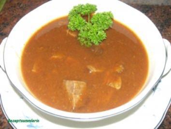 Suppe: GULASCHSUPPE für die Party - Rezept
