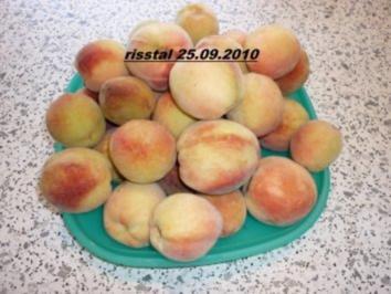Pfirsich-Himbeer-Nektarinen-Marmelade - Rezept
