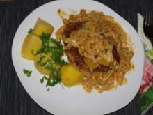 Schweinekoteletts in Senfsauce - Rezept