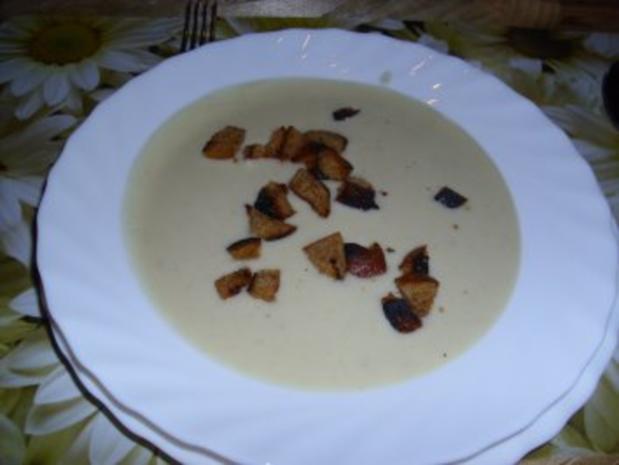 Sellerie-Suppe - Rezept