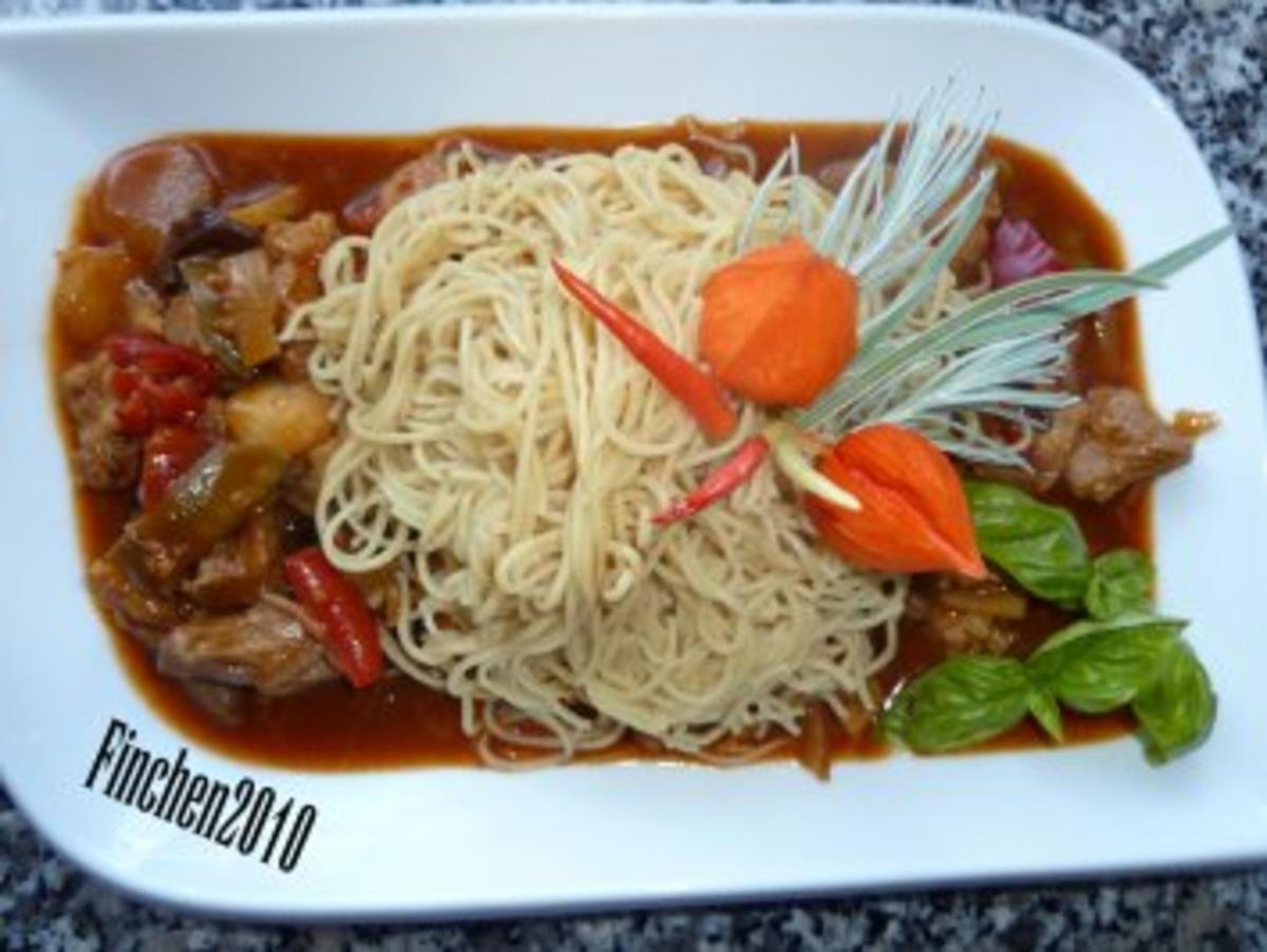 Chinapfanne Süß Sauer