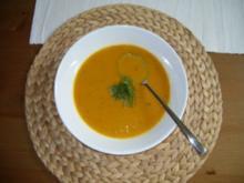 Leichte Kürbissuppe - Rezept