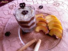 Desserts: Vanille-Risotto mit Schokolade und Obst - Rezept