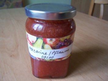 Nektarinen-Pflaumen-Marmelade - Rezept
