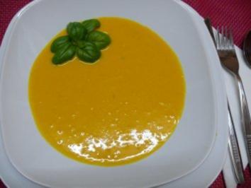 Cremesuppe vom Kürbis - Rezept