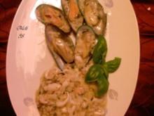 Fisch: Meeresfrüchte-Risotto - Rezept