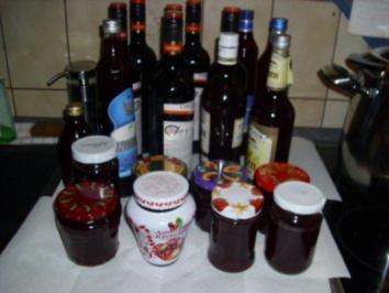 Zwetschgengellee / oder Saft für den Winter - Rezept
