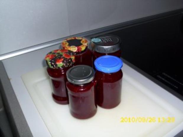 Brombeer - Melonen - Marmelade - Rezept