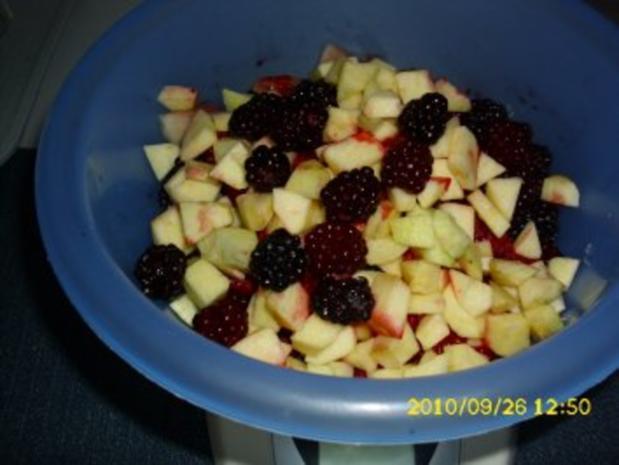Brombeer - Melonen - Marmelade - Rezept - Bild Nr. 3