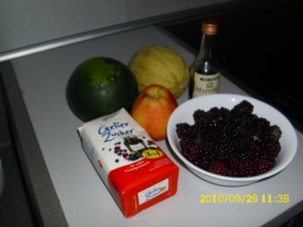 Brombeer - Melonen - Marmelade - Rezept - Bild Nr. 4