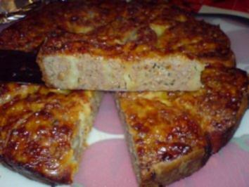 Gehacktes-Torte - Rezept