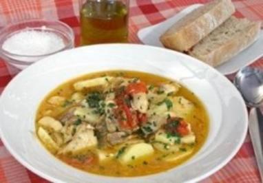 Istrianische Fischsuppe - Rezept