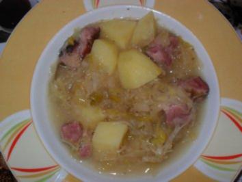 Sauerkraut - Kartoffel - Topf - Rezept