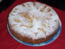 Rheinischer Dinkelkuchen mit Apfel und Quark - Rezept