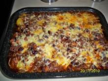 Leo´s Chili-con-carne-Auflauf - Rezept