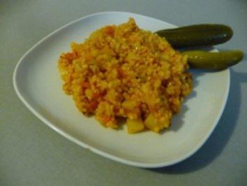 Bulgur pilav - Bulgur Reis - Türkischer Reis - Rezept